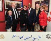 FLA Meeting in DC Feb 2018 _John Gifford and Senator Tim Scott-South Carolina