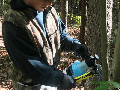 FORECON Forest Technician Ryan Zacherl