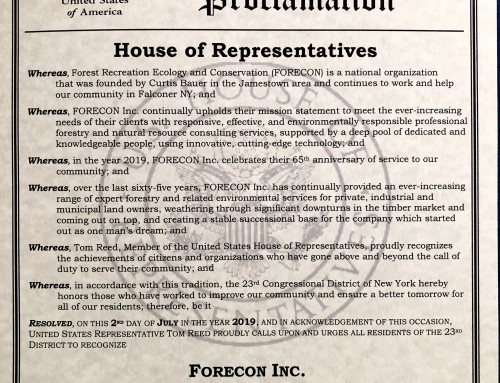 Congressional Proclamation, United States of America, House of Representatives