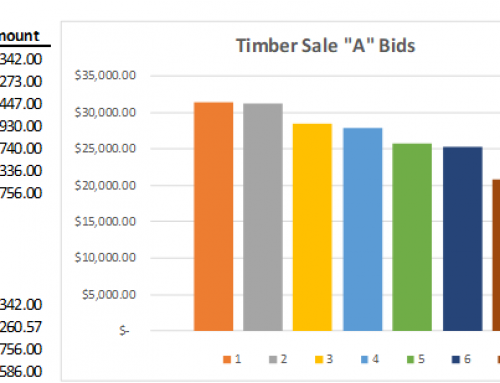 Successful Timber Sale Bidding Continues