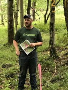 FORECON's Travis Cunningham (Staff Forester)